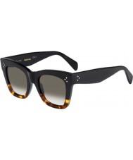 Celine Ladies cl 41090-s fu5 z3 svart skilpaddeskjell, solbriller