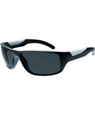 Bolle Vibe skinnende svart polarisert TNS solbriller