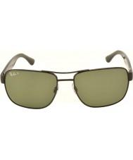 RayBan Rb3530 58 highstreet Gunmetal 002-9a polariserte solbriller