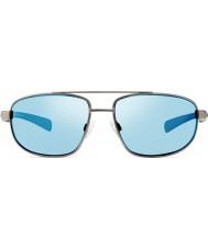 Revo Re1018 Wraith Gunmetal - blått vann polarisert solbriller