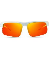 Revo Re1025 cusp s hvit - solcelle oransje polarisert solbriller