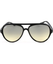 RayBan RB4125 59 katter 5000 svarte 601-32 solbriller
