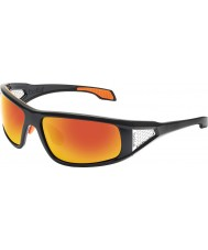 Bolle Diablo skinnende svart TNS brann solbriller
