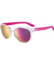 Cebe Cbsunri1 soloppgang gjennomsiktig rosa solbriller