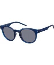 Polaroid Mens pld2036-s m3q c3 blå polariserte solbriller