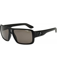 Cebe Lam alle svarte grå polariserte solbriller