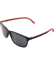 Polo Ralph Lauren Ph4092 58 mattsvarte 550481 polariserte solbriller