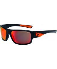 Cebe Whisper matt sort oransje solbriller