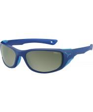 Cebe Jorasses medium matt mørk blå variochrom topp flash speil solbriller