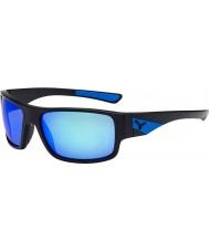 Cebe Whisper matt svart blå solbriller