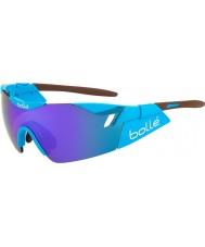 Bolle Sjette sans AG2R skinnende brune blå-fiolett solbriller