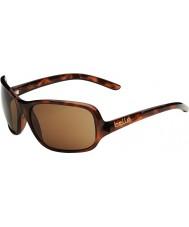 Bolle Kassia skinnende skilpaddeskall polarisert a-14 solbriller
