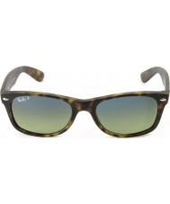 RayBan Rb2132 55 nye wayfarer matt skilpaddeskall 894-76 polariserte solbriller