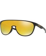 Oakley Oo9318-06 trillbe matt svart - 24k iridium solbriller