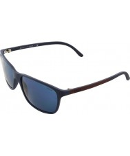 Polo Ralph Lauren Ph4092 58 matte blå 550680 solbriller
