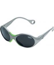 Cebe 1973 (alder 1-3) skinnende metallisk grå 2000 grå solbriller