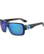 Cebe Lam matt sort 1500 grått flash speil blå solbriller