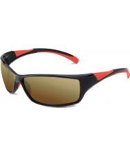 Bolle Speed skinnende svart rød bolle 100 pistol solbriller