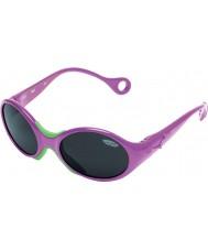 Cebe 1973 (alder 1-3) metallisk rosa 2000 grå solbriller