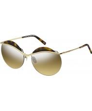 Marc Jacobs Ladies marc 102-s j5g gg gull sølv speil solbriller