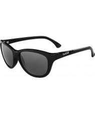 Bolle Greta skinnende svart polarisert TNS solbriller