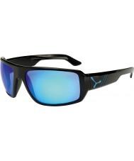 Cebe Maori skinnende svart blå solbriller