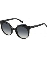 Marc Jacobs Ladies marc 105-s D28 9o skinnende sorte solbriller