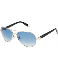 Furla Ladies jade su4339s-300 skinnende rose gull speilet sølv solbriller