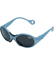 Cebe 1973 (alder 1-3) skinnende metallisk lyseblå 2000 grå solbriller