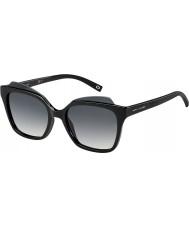 Marc Jacobs Ladies marc 106-s D28 9o skinnende sorte solbriller