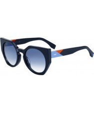 Fendi Damefasetter ff 0151-s pjp u3 solbriller