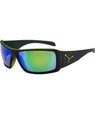 Cebe Utopy matt svart grønne solbriller