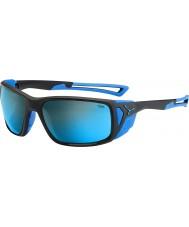 Cebe Proguide matt svart blå 4000 grå mineral blå solbriller
