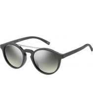 Marc Jacobs Marc 107-s DRD Gy mørk grå sølv speil solbriller