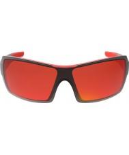 Bolle Diamond skinnende svart rød TNS brann solbriller