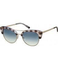 Polaroid Ladies pld4045-s MSS Z7 svart havana gull kobber polariserte solbriller