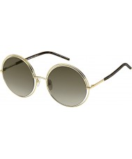 Marc Jacobs Ladies marc 11-s apq ha gull mørke Havana solbriller