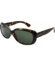 RayBan Rb4101 58 Jackie Ohh lys skilpaddeskall 710 solbriller