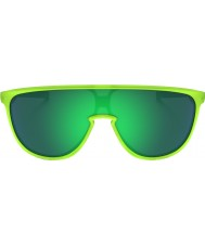 Oakley Oo9318-07 trillbe matt uran - jade iridium solbriller
