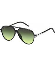 Marc Jacobs Marc 44-s D28 ib skinnende sorte solbriller