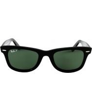 RayBan Rb2140 original wayfarer svart - grønn polarisert