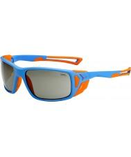 Cebe Proguide matt blå oransje variochrom rush solbriller