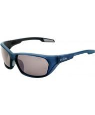 Bolle Aravis matt blå polarisert TNS pistol solbriller
