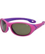 Cebe Simba (alder 5-7) mørk rosa solbriller