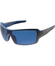 Bolle Diamond skinnende svart blå polarisert gb-10 solbriller