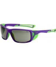 Cebe Proguide lilla grønn variochrom rush solbriller