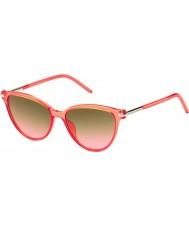 Marc Jacobs Ladies marc 47-s tot fx korall solbriller