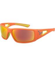 Cebe Session oransje kalk 1500 grå speil oransje solbriller