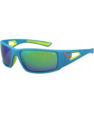 Cebe Session blå oransje 1500 grå speil grønne solbriller