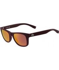 Lacoste L790s matte burgunder solbriller
